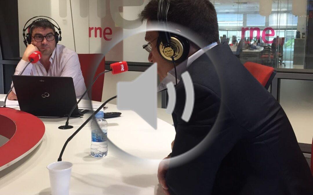 Entrevista en Radio Nacional de España con el Dr. Mañero