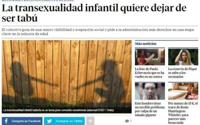 La transexualidad infantil quiere dejar de ser tabú