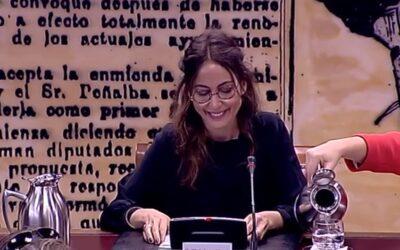 Comparecencia en el senado de Fundación Daniela