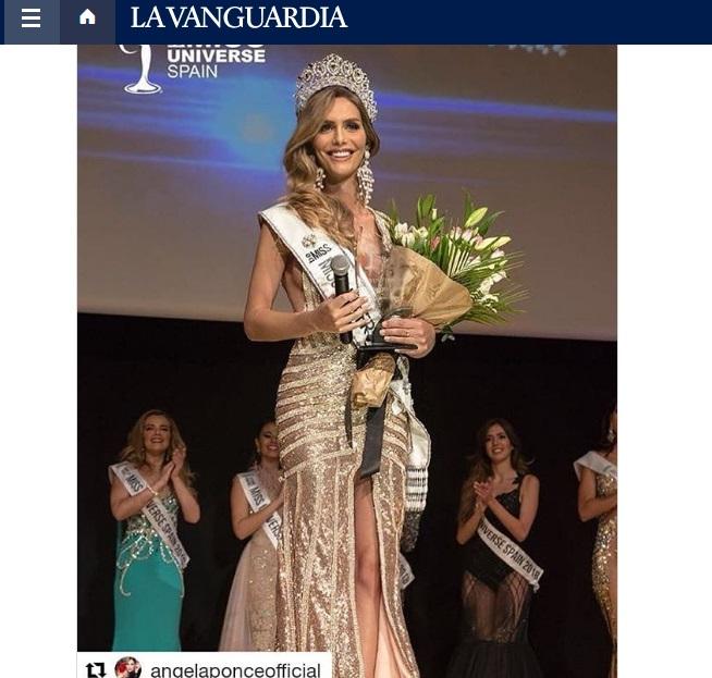 La primera mujer transexual que participa en el certamen de Miss Universo