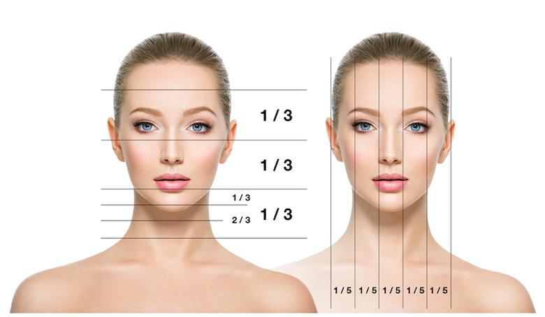 Feminización facial: proporciones del rostro femenino